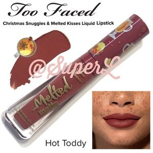 2/$25 Too Faced Melted Matte Lipstick Hot Toddy